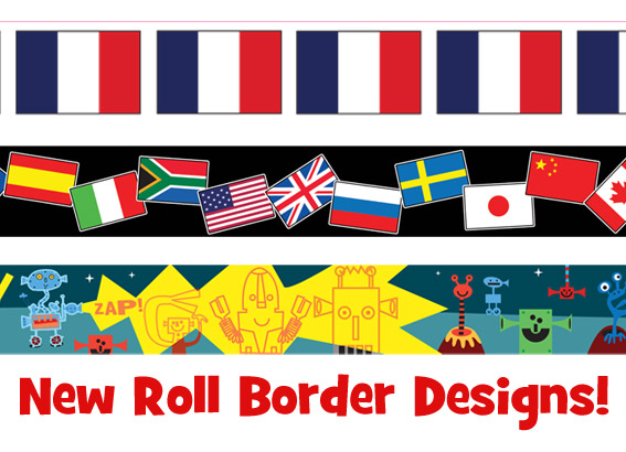 New Roll Border Designs