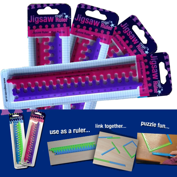 Magic Rulers - Pink & Purple - Great Class gift!