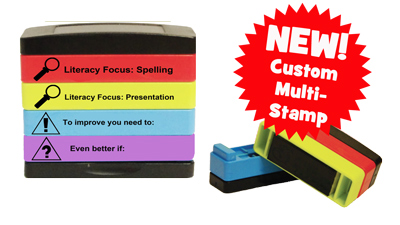 New custom school stamp - Layer Multi-Stamp