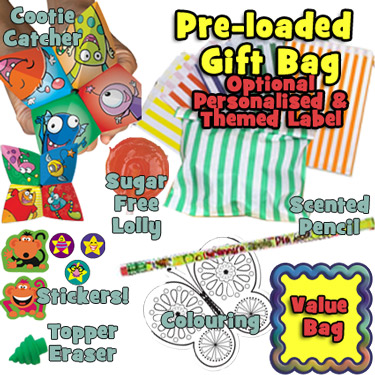 Pre-filled End of Term Gift Bags