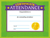 Certificate of Attendance[T-11002]
