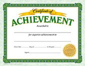 Certificate of Achievement [T-11305]