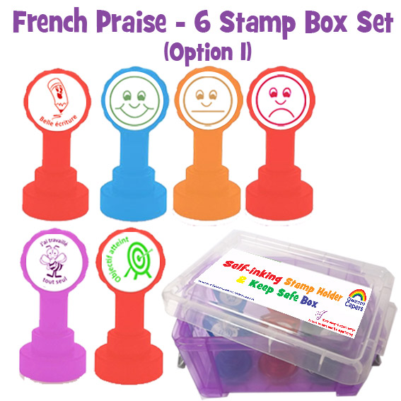 French Stamp Box Sets