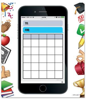 Reward Chart Pad | Smart Phone Fun Reward Chart Pad