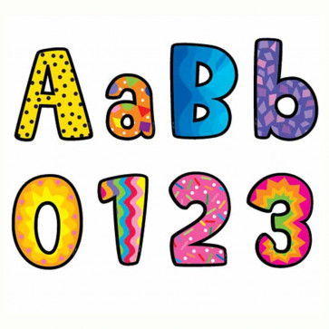 Classroom Display Letters and Numbers   Poppin Patterns
