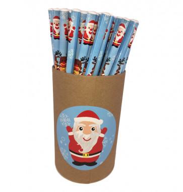 Christmas Cheap Gifts | Value tub 72 Christmas Fun HB Pencils