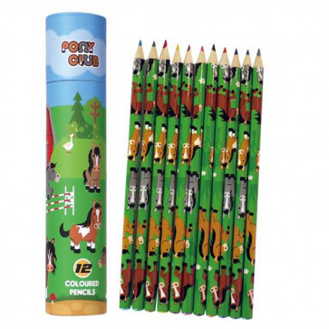 Pony Club Stationery | Licensed Pony Colouring Pencils Set.