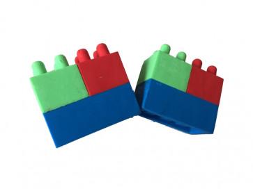Kids Erasers | Building Block Eraser x 24