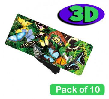 3 Dimensional Bookmarks | Beautiful Butterflies