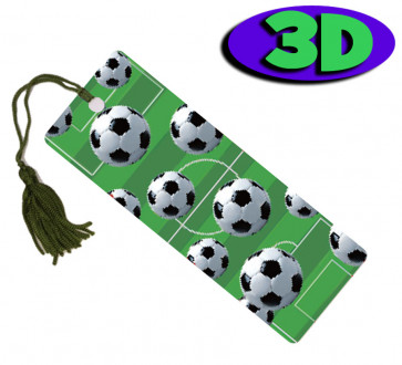 3D Bookmarks | Football Frenzy 3D Bookmark For Party Bags & Class Gifts.