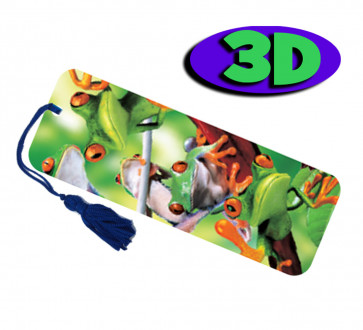 3D Bookmarks | Tree Frogs Bookmark For Party Bags & Class Gifts