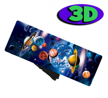 3 D Bookmarks | Space and Planets Design 3D Design