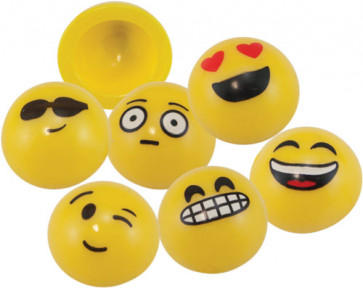 Class Gifts | Emoji Smiley Popping Poppers! Great Party Bag Filler.