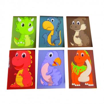 Class Gifts | 12 x Cute Dinosaur Mini Notepads