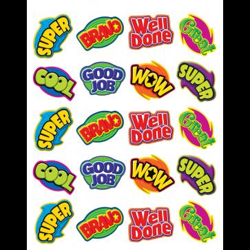Reward Stickers | Positive Word Praise Stickers x 120