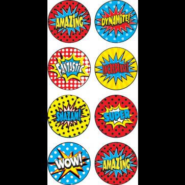 Reward Stickers   Superhero Superpower Mini Reward Stickers