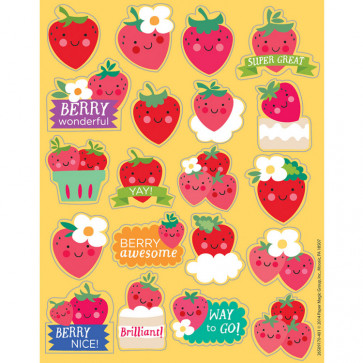 Teacher Scented Stickers   Sweet Smelling Strawberry Reward Stickers