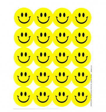 Smelly Stickers | Classic Smiley Stickers - Lemon Scented