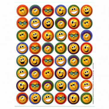 Kids Stickers | Fun Emoticons Crazy Faces Designs