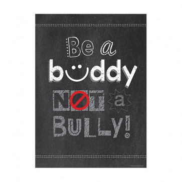Educational Posters | Be a Buddy Not a Bully - Anti-bullying Poster