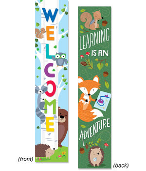 Classroom Banner | Welcome / Learning is an adventure Banner.
