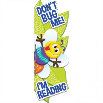 Bookmarks / Class Gifts | Don't Bug Me I'm Reading Shaped Bookmarks