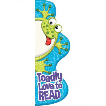 Bookmarks / Class Gifts | Toadly Love to READ Shaped Bookmarks