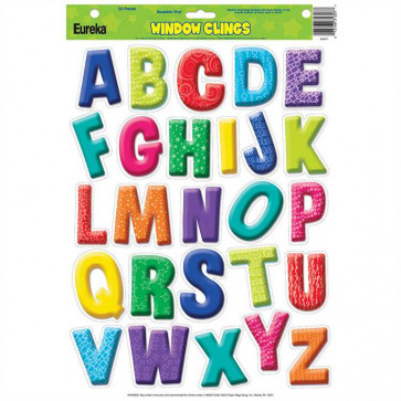 Classroom Display | Alphabet / Letters Window Clings