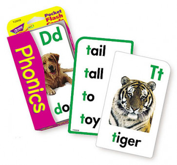 Educational Game | Pocket Phonics Flash Cards.