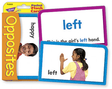 Educational Games | Opposites Flash Cards