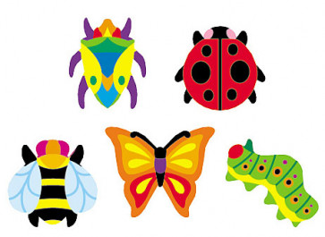 Kids Stickers | Totally Buggy Insect Mini Stickers