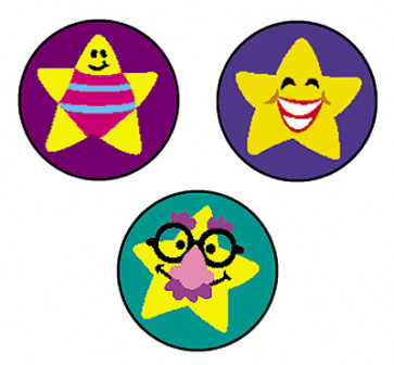 School Stickers | Silly Stars Stickers for Teachers
