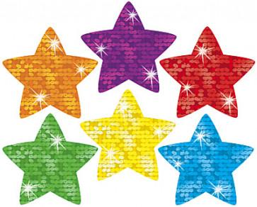 Teacher Stickers | Super Stars Glitter Kids Stickers