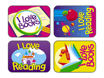 Reading Fun Reward Stickers for Children