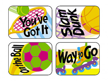 Sports Rewards Stickers for School