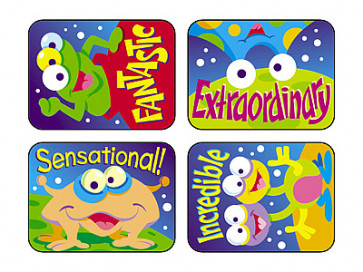 Space Creatures Teacher Reward Stickers for Children