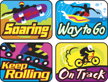 Cool Moves Children's Reward Stickers