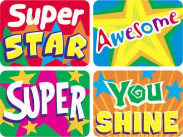 Stars Teacher School Stickers for Children