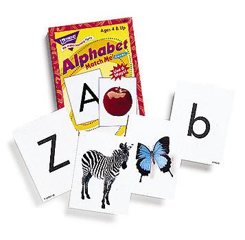Literacy Games - Alphabet Match Me Cards