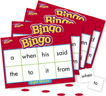 Educational Games | Sight Words Kids Bingo Game