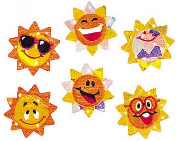Reward Stickers | Sunny Smiles Sparkly Teacher Stickers