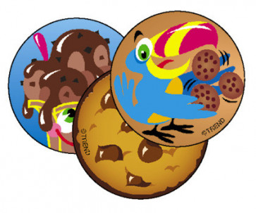 Chocolate Scratch and Sniff Stickers for Children