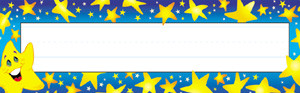 Super Stars Name Plates / Classroom Labels