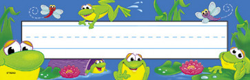 Frog Pond Nameplates