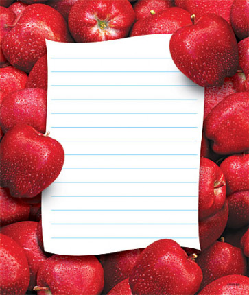 Fresh Apples Teacher Notepads