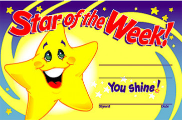 Star of the Week Certificate