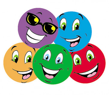Colourful Smiles Tutti-Frutti Smelly Stickers for Teachers