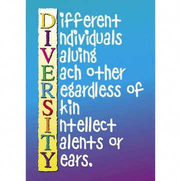 School Poster | Diversity PSHE Poster - Ideal for Classrooms