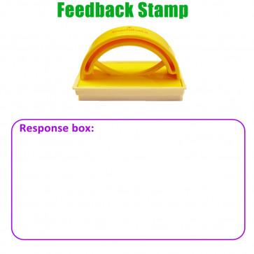 Teacher Stamp | Response box: Large Box Design to Prompt Written Response.