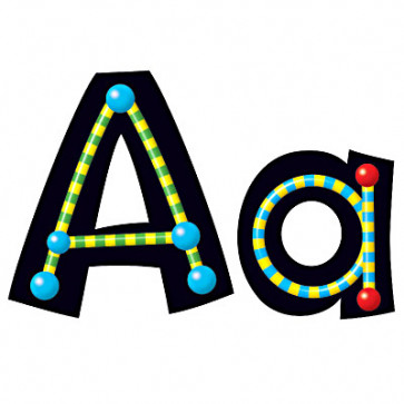 Alpha Beads Alphabet Display Letters